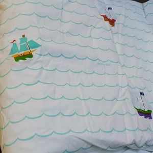 Full size kids pirate duvet and pillow case